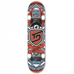 TRUE DRIVE Skateboard 7.75 Red Eye komplett