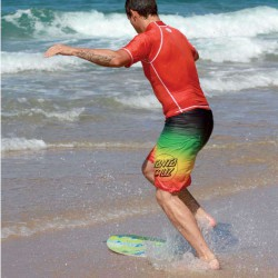 Skimboard SLIDZ 37 / 95cm Huntington Beach Gelb