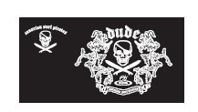 DUDE Zip Pirates - Black – Bild 3