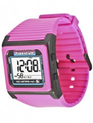 THE SPEED DIAL, Hot Pink - Freestyle Uhr, Unisex – Bild 1